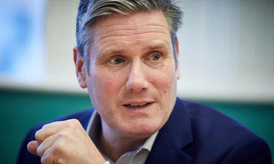 Keir Starmer sets out his priorities in Manchester.