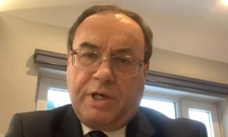 Andrew Bailey, the governor of the Bank of England, gives evidence to the Treasury committee on the subject of the Financial Conduct Authority's regulation of London Capital & Finance plc
