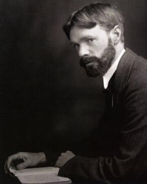 DH Lawrence, English novelist and poet 1885-1930.