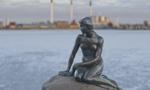 Copenhagen's Little Mermaid statue