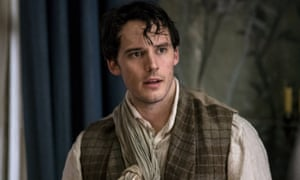 Sam Claflin as Philip: 'A glorious puppy looking for its mother'.