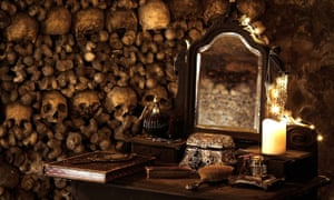 20m under Paris, the catacombs are known as the 'world's largest grave'.