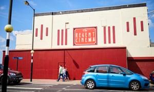 Redcar's Regent cinema is shut.