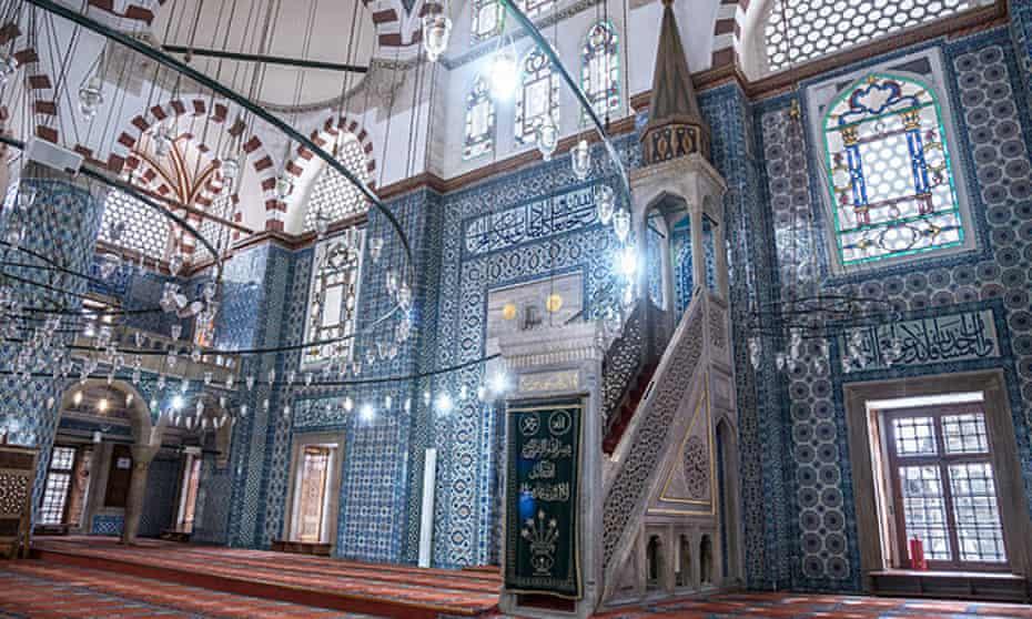 The Rustem Pasha mosque.