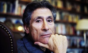 Edward Said in his office at Columbia University in New York City in 2003, a few months before his death.