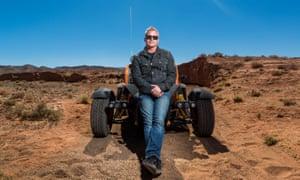 Matt LeBlanc in Morocco for Top Gear.