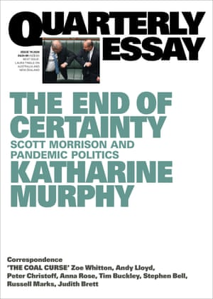 Cover of The End of Certainty by Katharine Murphy