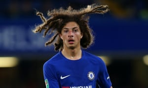 Ethan Ampadu came through Exeter's academy but has now played seven times for Chelsea.