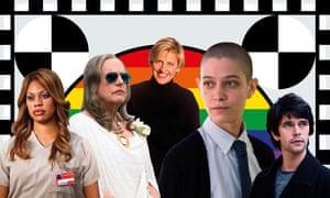 Laverne Cox, Jeffrey Tambor, Ellen DeGeneres, Asia Kate Dillon and Ben Whishaw