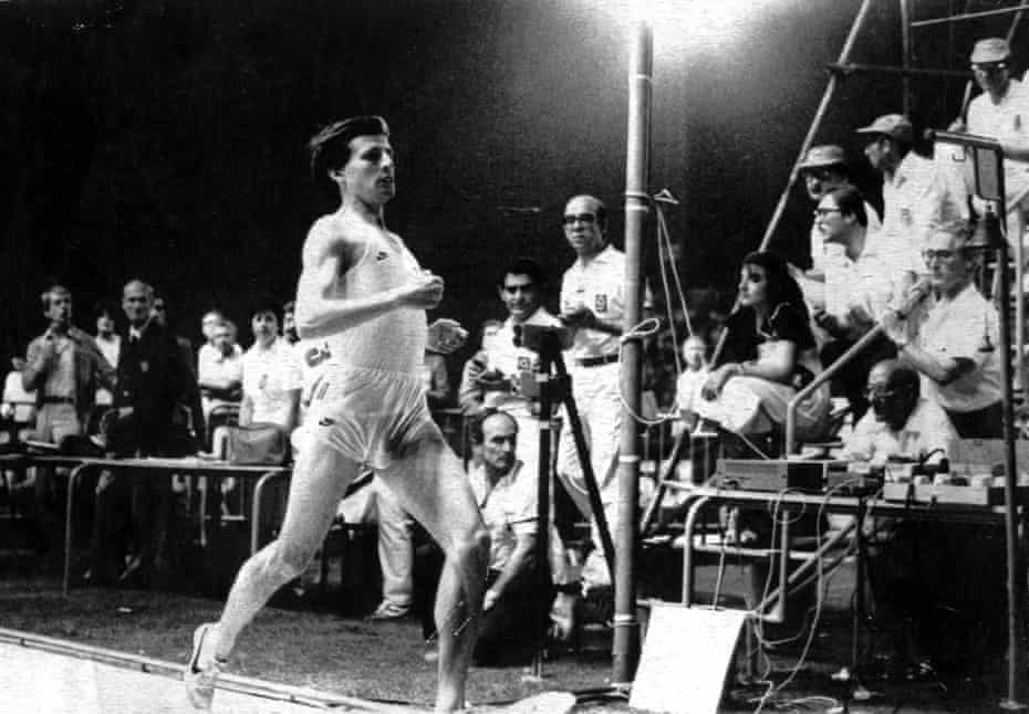 A fantasy night in Florence as Sebastian Coe crosses the line at the Stadio Comunale to win the 800m in a world record 1:41:73, in June 1981.