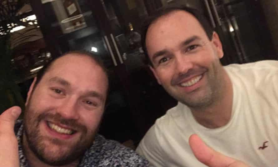 Tyson Fury credited Daniel Kinahan (right) with arranging a fight against Anthony Joshua.
