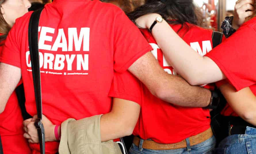Jeremy Corbyn campaign supporters
