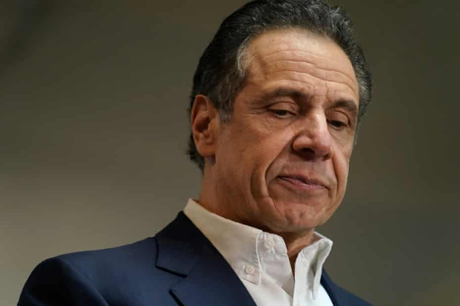 New York Governor Andrew Cuomo announced his resignation following sexual harassment allegations, on Tuesday.