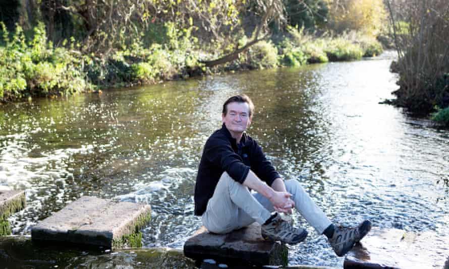 Feargal Sharkey on the River Lea near Harpenden, Hertfordshire.