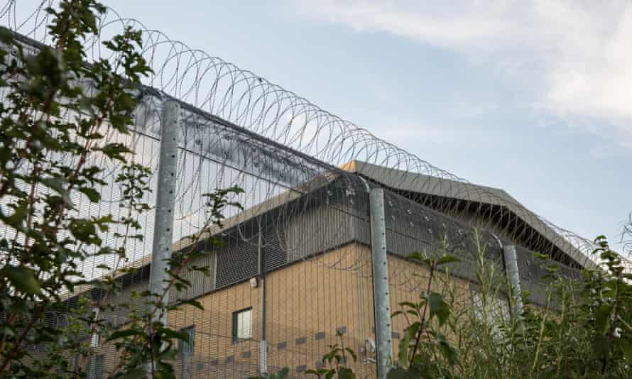 One visitor was issued with an expulsion order before being locked up in Colnbrook detention centre for the night.