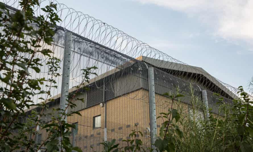 Colnbrook immigration removal centre near Heathrow
