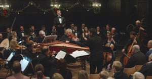 Barnaby Smith conducts the Messiah at the Gresham Centre, St Anne and St Agnes church, London.