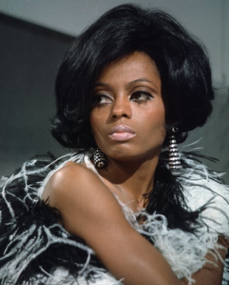 Diana Ross as a member of the Supremes, pictured in 1968.