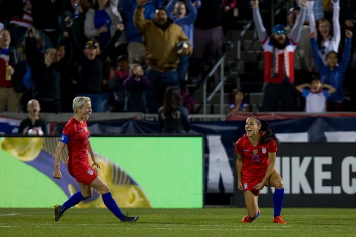 fea85619f2b USA 5-3 Australia  women s football international friendly – as it happened
