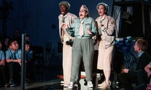 Eddie and the Slumber Sisters - National Theatre Scotland, May 2018.