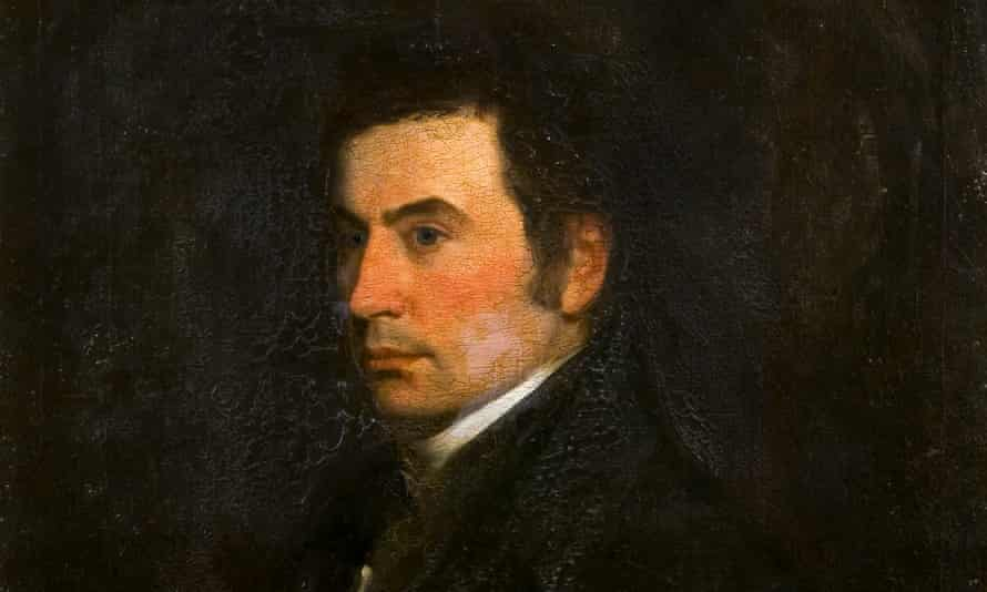 A portrait of Thomas Manning, whose papers have been found in a bookseller's cupboard