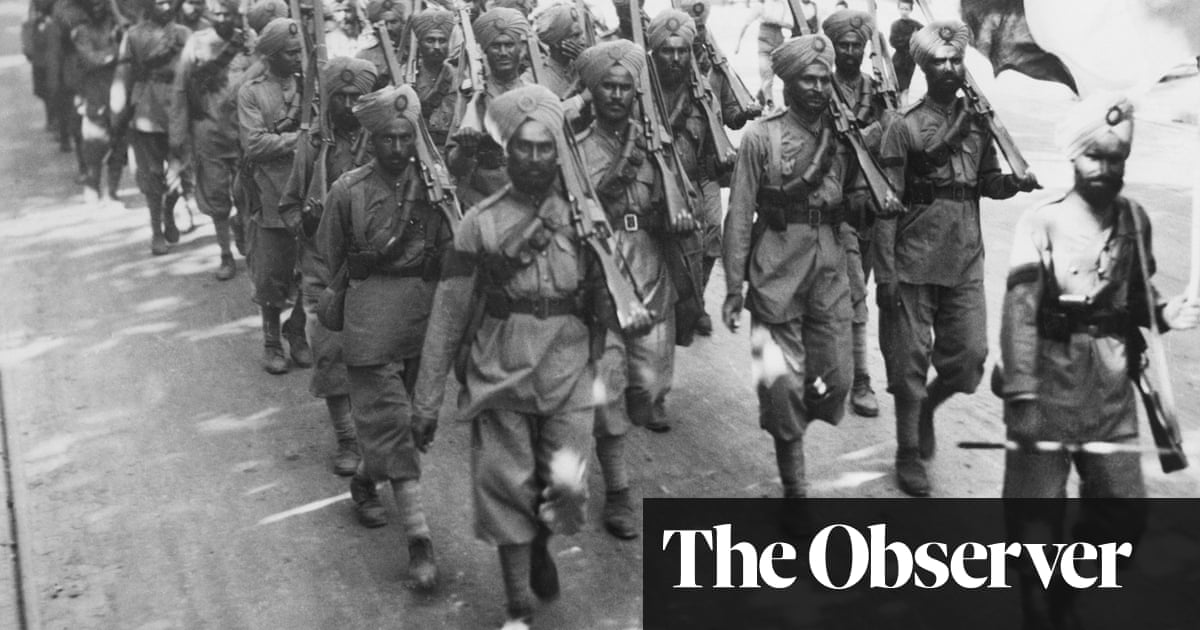 British army 'failed to treat Indian soldiers for shell shock' | World news | The Guardian