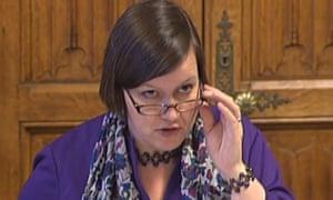 Public accounts committee chair, Meg Hillier.