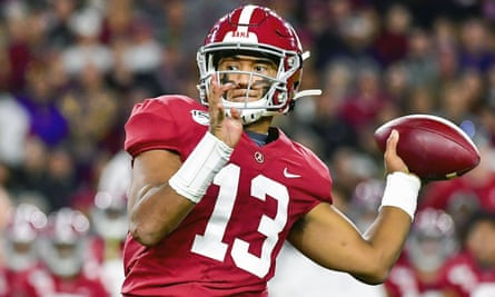 There is no questioning Tua Tagovailoa's ability but his injury history may see him drop down the draft