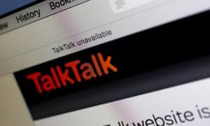 Missing broadband from TalkTalk.