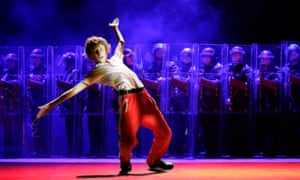 'It's been translated into Dutch – and even Korean' … George Maguire as Billy Elliot in 2005.