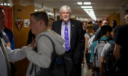 Dr Joe Shivers, superintendent of the Salem school district, believes in educating a diverse and changing student population.