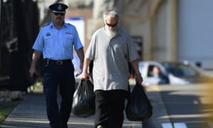 Michael Guider, who killed nine-year-old Samantha Knight, being released from Long Bay jail on Thursday.