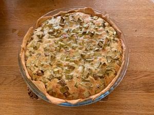 Deborah's rhubarb pie