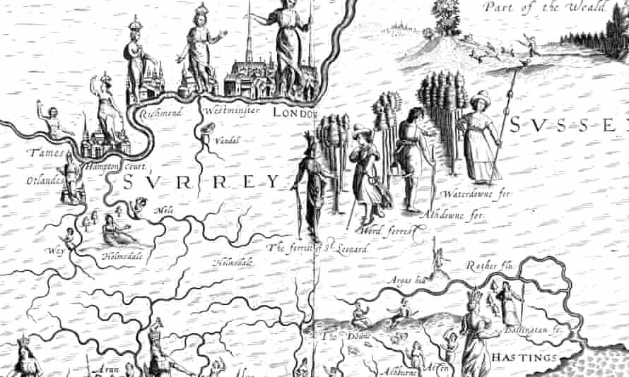 Surrey and London, from Albion's Glorious Ile.