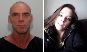 Lee Nolan, convicted murder, and victim Katelyn Parker