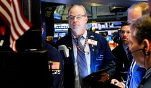 New York Stock Exchangeepa07422507 Traders work on the floor of the New York Stock Exchange at the start of the trading day in New York, New York, USA, on 08 March 2019. EPA/JUSTIN LANE