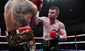 Paddy Barnes beat Adrian Dimas Garzon in his second fight as a pro in March.