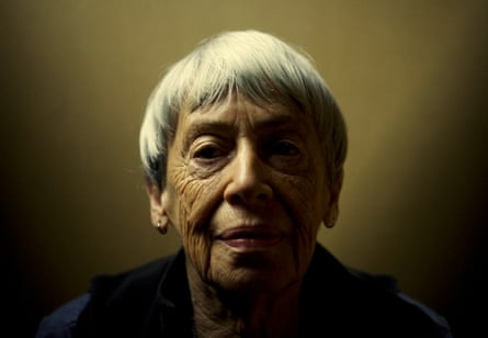 Ursula K Le Guin, photographed in Portland in 2008.