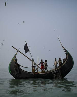 Rohingya refugees fish in troubled waters – photo essay