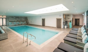 Glass House pool