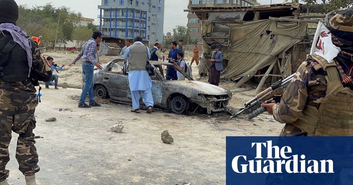 Rockets fired at Kabul airport as US approaches withdrawal deadline – video