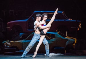 Soares and Lauren Cuthbertson in The Judas Tree, part of Kenneth MacMillan: A National Celebration in 2017
