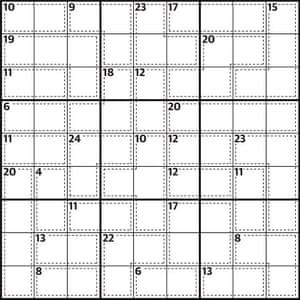 Killer Sudoku 622
