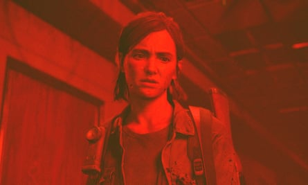 Characters locked into brutal cycles of revenge and savagery ... The Last of Us Part 2.