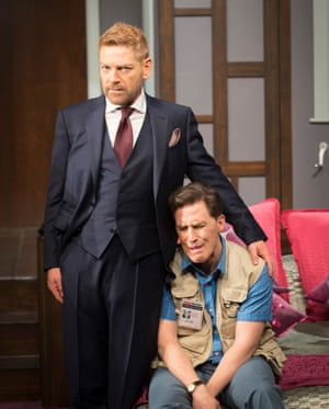 Branagh and Brydon in The Painkiller.