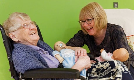'Her whole demeanour changed': why lifelike dolls are being used in dementia care