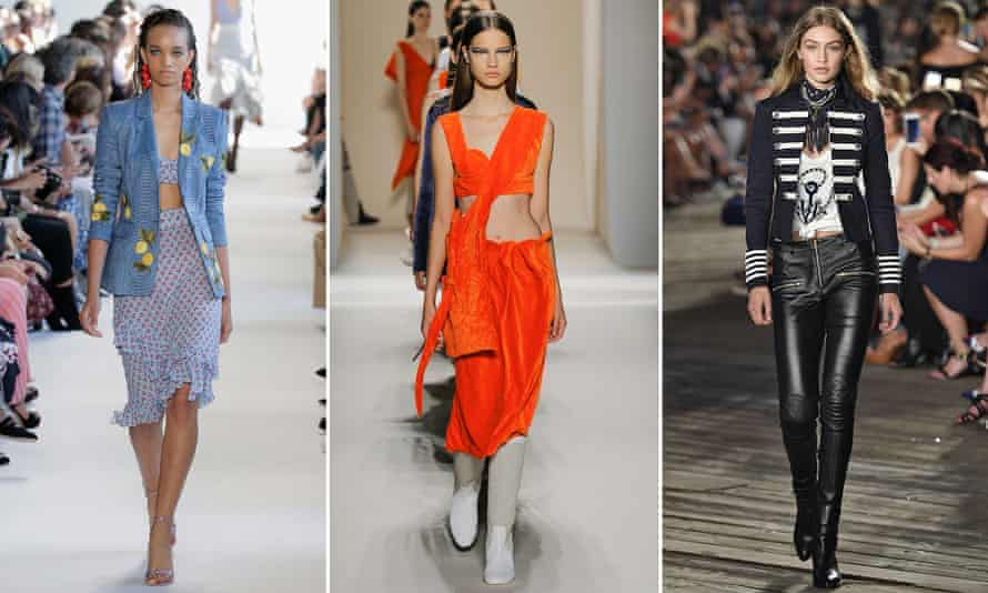 Altuzarra, Victoria Beckham and Gigi Hadid in Tommy Hilfiger at New York fashion week