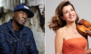 Grandmaster Flash and Anne-Sophie Mutter