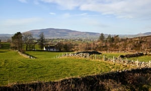 View from Flagstaff Hill, Newry, Northern Ireland.