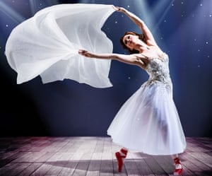 Love and power … Ashley Shaw as Victoria Page in The Red Shoes